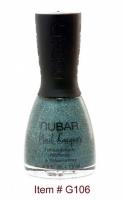 Blue Silver Glitter G106