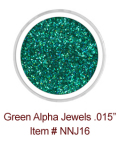Green Alpha Jewels NNJ16