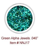 Green Alpha Jewels NNJ17