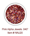Pink Alpha Jewels NNJ20